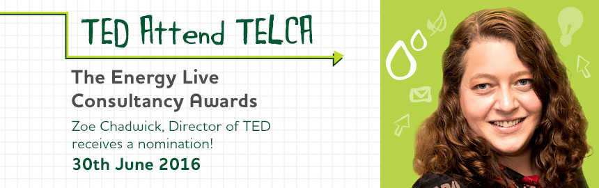 TED Director to attend TELCA 2016 Awards