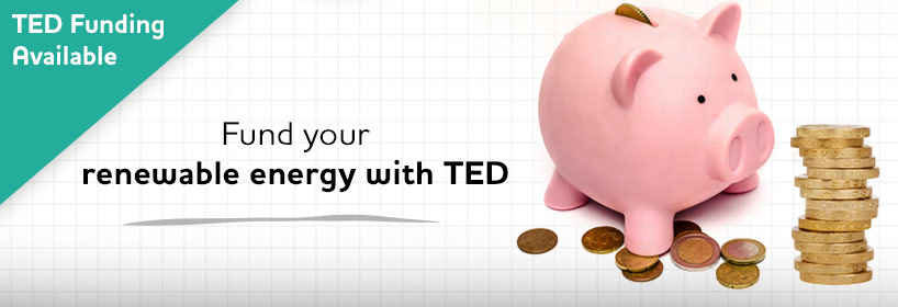 Fund your renewable energy system with TED